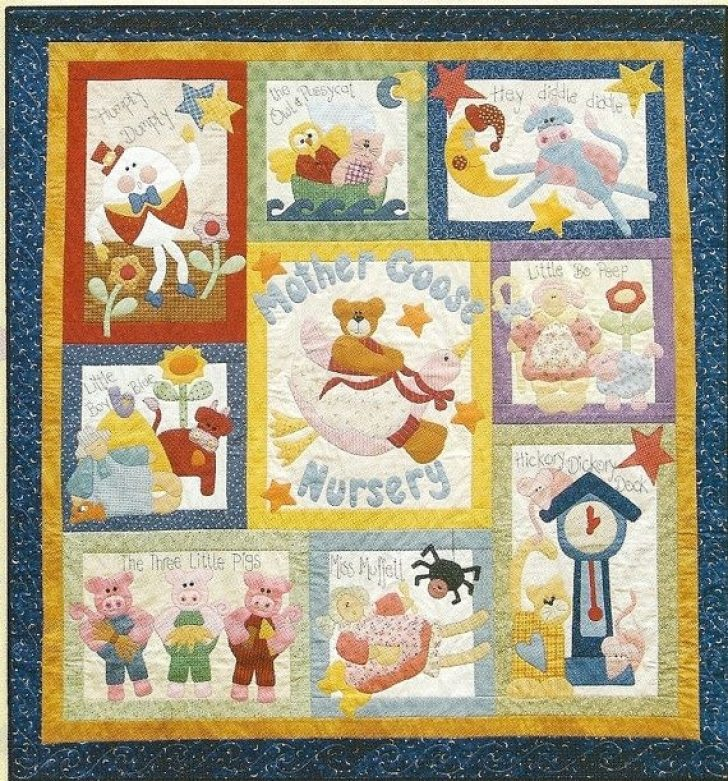 Permalink to Interesting Nursery Rhyme Quilt Patterns Inspirations