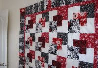 pin on black and white color Hanky Panky Quilt Pattern