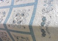 pin on machine embroidery applique Elegant Embroidered Quilts Patterns Inspirations
