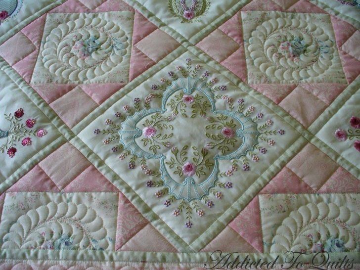 Permalink to Elegant Embroidered Quilts Patterns Inspirations