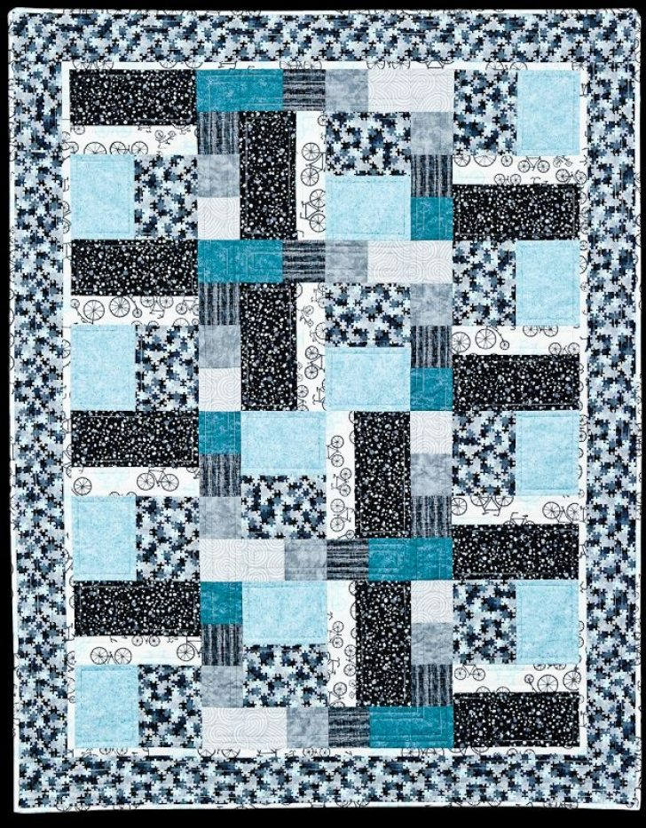 Permalink to Elegant Quilt Designs With Squares And Rectangles Inspirations