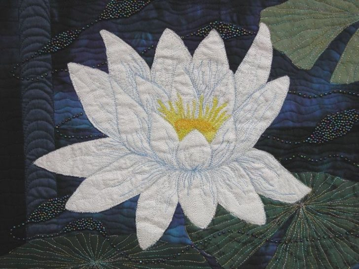 Permalink to Interesting Water Lily Quilt Pattern Inspirations