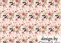 pink boho floral fabric quilting fabric the yard cotton flowers feathers fabric nursery organic cotton knit minky fabric sm 7082687 New Pink Floral Quilting Fabric Inspiration Gallery