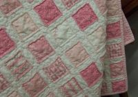 pink vintage ba quilt i want this for my granddaughter Interesting Vintage Baby Quilt Patterns Inspirations
