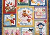 pinterest Interesting Nursery Rhyme Quilt Patterns Inspirations
