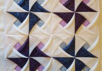 pinwheel surprise folded quilt block pattern quilts Cozy Cathedral Quilt Patterns Gallery