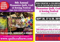 pleasanton show sew quilt needlework craft expo Modern Puyallup Quilt Craft And Sewing Festival Inspirations