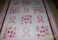 podunk pretties throwback thursdays in the pink series Cozy Breast Cancer Quilt Pattern