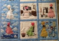 portion of my quilt quilt blocks from the book bonnet Cozy Bonnet Girl Quilt Pattern Inspirations
