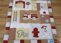 possible fire truck quilt fireman quilt ba boy quilts Cool Firefighter Quilt Patterns