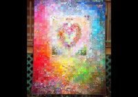 postage stamp watercolor heart quilt Stylish Watercolor Heart Quilt Pattern