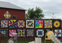 pretty barn quilts for sale today barnquilts gardenart Unique Painted Quilts On Amish Barns Gallery