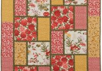 purrfect stitchers quilts big block quilts quilt patterns 9 Cool Large Quilt Block Patterns
