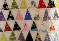 pyramid quilt 60 degree triangle quilt tutorial here if Unique 60 Degree Triangle Quilt Tutorial