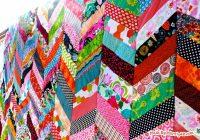 qayg chevron quilt tutorial made marzipan Stylish Chevron Quilt Pattern Using Jelly Roll