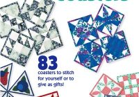 quick to quilt coasters bonus quilted coasters Interesting Quilted Coaster Patterns