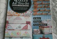 quilt as you go made vintage jera brandvig new quilting book ebay Elegant Quilt As You Go Made Vintage Gallery