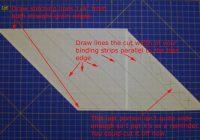 quilt binding instructions how to make continous bias binding Elegant Sewing Bias Binding On A Quilt