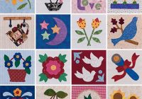 quilt blocks from easy applique blocks stitch this the Stylish Applique Quilt Block Patterns