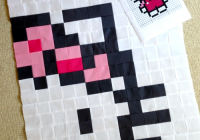 quilt candy wip wednesday hello kitty quilt Unique Hello Kitty Quilt Pattern