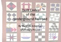 quilt codes of the underground railroad Cool Underground Railroad Quilt Code Patterns