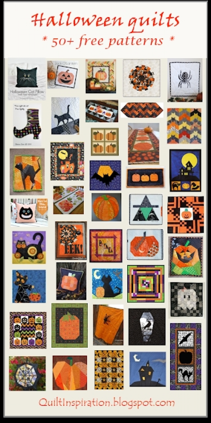 Permalink to Stylish Halloween Quilting Patterns Gallery