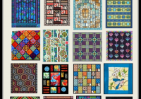 quilt inspiration free pattern day stained glass quilts Cool Stained Glass Quilt Pattern Inspirations