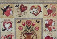 quilt inspiration vintage and modern valentines part 1 Elegant Vintage Valentine Quilt Pattern Verna Mosquera Inspirations