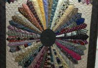 quilt made with neck ties crafts necktie quilt tie Unique Arts And Crafts Quilt Patterns Inspirations