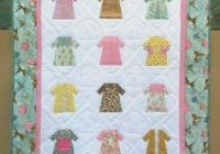quilt pattern childs quilt little dresses Stylish Little Girl Quilt Patterns Gallery