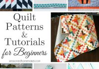 quilt patterns and tutorials for beginners Elegant Quilting Patterns For Beginners