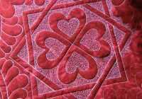 quilt stippling and meandering stitches Modern Stippling Quilt Patterns Inspirations