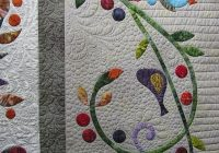 quiltappliquevines great applique border pattern is Modern Floral Applique Quilt Patterns Gallery