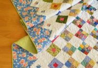 quiltbee woo hoo number two amazing quilt ideas Unique Two Fabric Quilt Patterns Inspirations