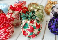 quilted ball basic star ornament pattern e book no sew learn to use both ribbon and fabric Cool No Sew Quilted Ornaments Gallery