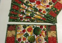 quilted christmas placemats christmas placemats Modern Quilted Placemat Patterns To Sew