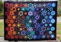 quilted delights one block wonder finished Interesting One Block Wonder Quilt Pattern