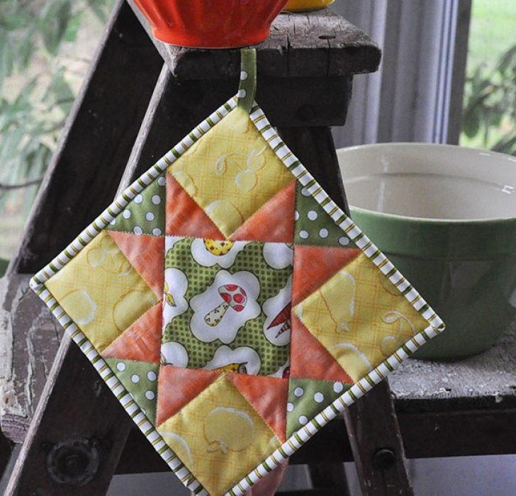Permalink to 9 Elegant Quilted Potholder Pattern Inspirations
