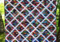 quilted twins mosaic quilt free pattern using 2 strips i Interesting Mosaic Quilt Patterns Gallery