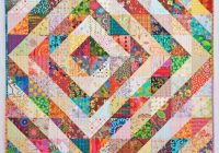 quilternitys place half square triangle values quilt 10   Half Square Triangle Quilt Tutorial