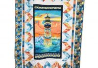 quilters lighthouse quilt kit featuring lightkeepers quilt 9 Cool Lighthouse Quilt Patterns Gallery