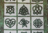 quilters treasure Unique Celtic Knots Quilt Pattern