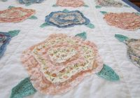 quilting board Cozy French Roses Quilt Pattern Gallery