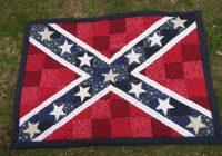 quilting board Unique Confederate Flag Quilt