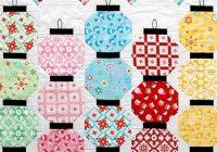 quilting land happy glow japanese lantern quilt Japanese Lantern Quilt Pattern Gallery