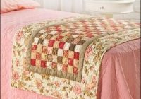 quilting patterns book quilts new designs easy fabric bed Elegant Bed Runner Quilt Patterns