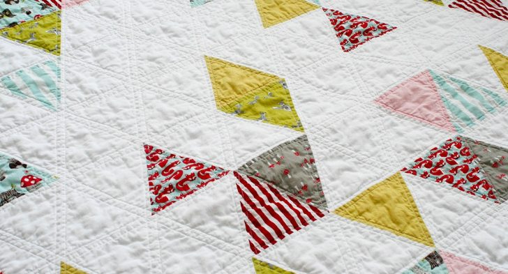 Permalink to Cozy Equilateral Triangle Quilt Gallery