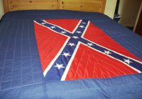 quilts Unique Confederate Flag Quilt