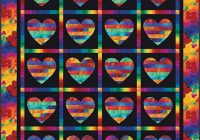 radiant heart quilt pattern Unique Applique Heart Quilt Patterns Inspirations
