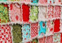rag quilts Elegant 3 Fabric Quilt Idea Gallery